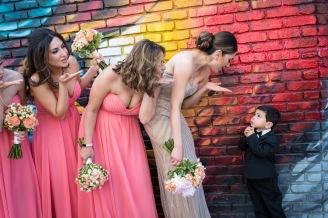 Downtown LA Arts District Wedding Photos