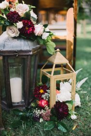 Hummingbird Nest Ranch Wedding - Elegant Fall Ceremony