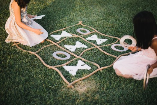 Hummingbird Nest Ranch - Elegant Fall Wedding - Lawn Games