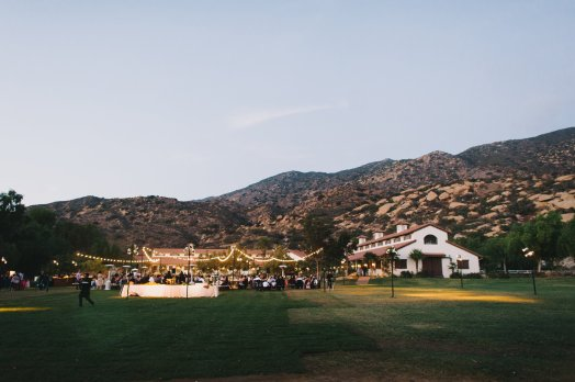 Hummingbird Nest Ranch - Elegant Fall Wedding
