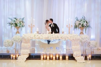 Armenian Wedding Sweetheart Table
