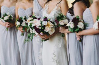 Hummingbird Nest Ranch Wedding - Bridesmaids