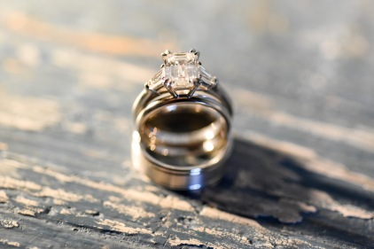 Hummingbird Nest Ranch Wedding - Wedding Rings