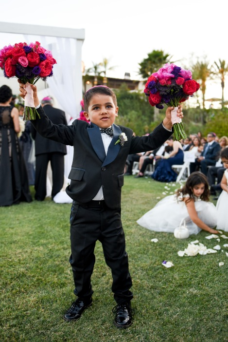Hummingbird Nest Ranch Wedding - Ring Bearer