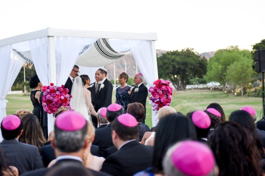 Hummingbird Nest Ranch Wedding - Jewish Wedding