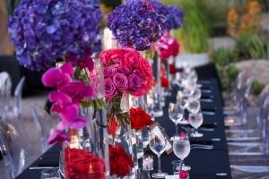 Hummingbird Nest Ranch Wedding - Modern Jewel Tones