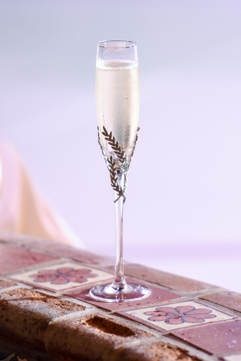Hummingbird Nest Ranch Wedding - Wedding Champagne Flutes