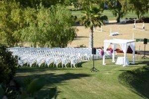Hummingbird Nest Ranch - Jewish Wedding Ceremony with Chuppah
