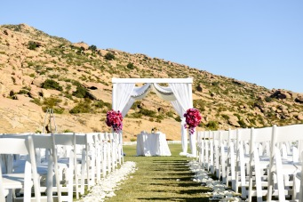 Hummingbird Nest Ranch - Jewish Wedding Ceremony with Chuppah