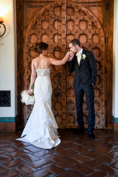 Hummingbird Nest Ranch Wedding - Bride and Groom